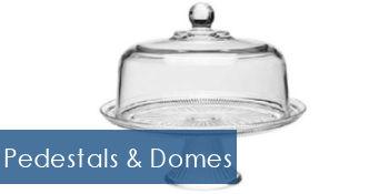 Cake Pedestals & Domes