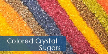 Colored Crystal Sugars