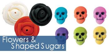 Flowers & Shaped Sugars