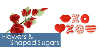 Flowers & Shaped Sugars