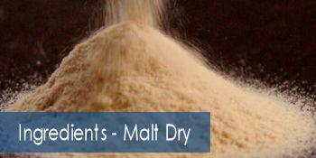 Ingredients - Malt Dry
