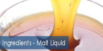 Ingredients - Malt Liquid