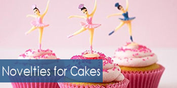 Novelties for cakes