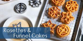 Rosettes & Funnel Cakes