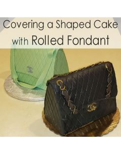 CLASS: Cover a Cake with Rolled Fondant (Feb 1)