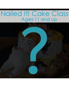 CLASS: Nailed It! Age 11 to 15 (Feb 15)