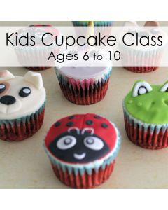 CLASS: Kids Animal Cupcakes (Feb 15)